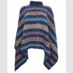 Fairisle Arctic Star Cape