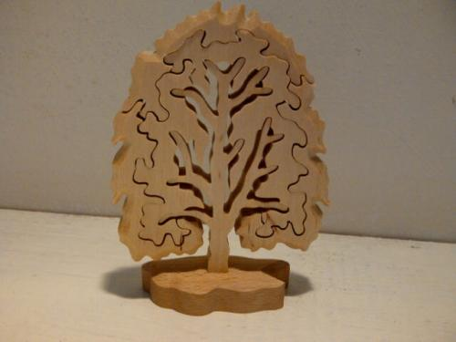 Birch Jigsaw Puzzle Tree