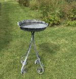 Forged Iron Bird Bath