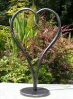 Forged Iron Love Heart