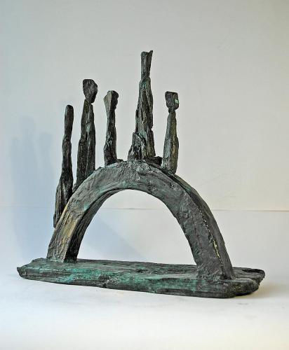 Bronze Sculpture Somewhere