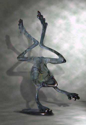 Bronze Dancing Frog