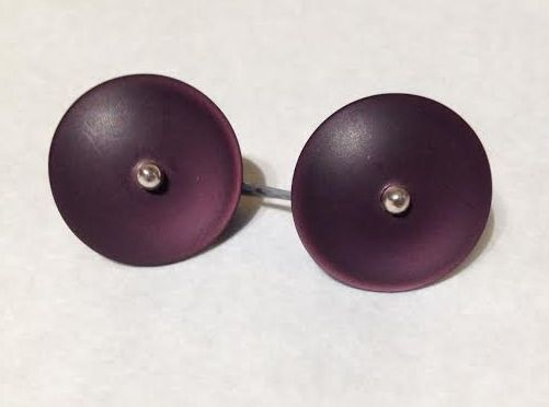 Earrings Button Studs