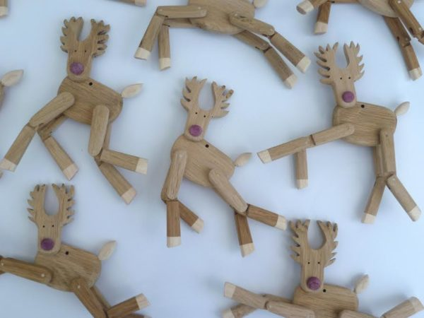 Small Reindeer Hang Up