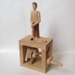 The Golfer Wooden Automata