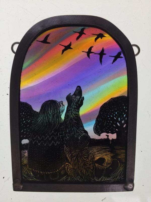'Watching the Geese return'