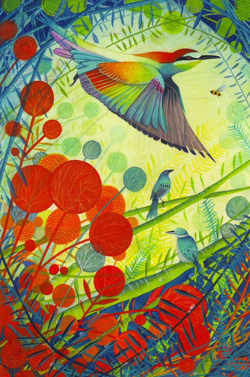 Giclee print 'Paradise'