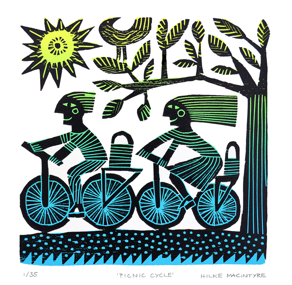 original lino-cut