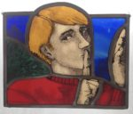 Stained Glass Panel Quiet Man