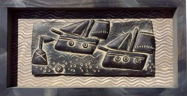 John Maltby - 2 Boats Sailing