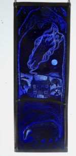 Stained Glass Panel Ancestral Spirit