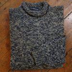 'Blue John/Lovage' Wool Sweater