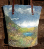 Nuno Felted Landscape Bag