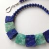 Necklace in Lapis with Amonzonite