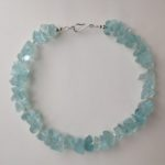 Necklace in Sea Glass and pearls