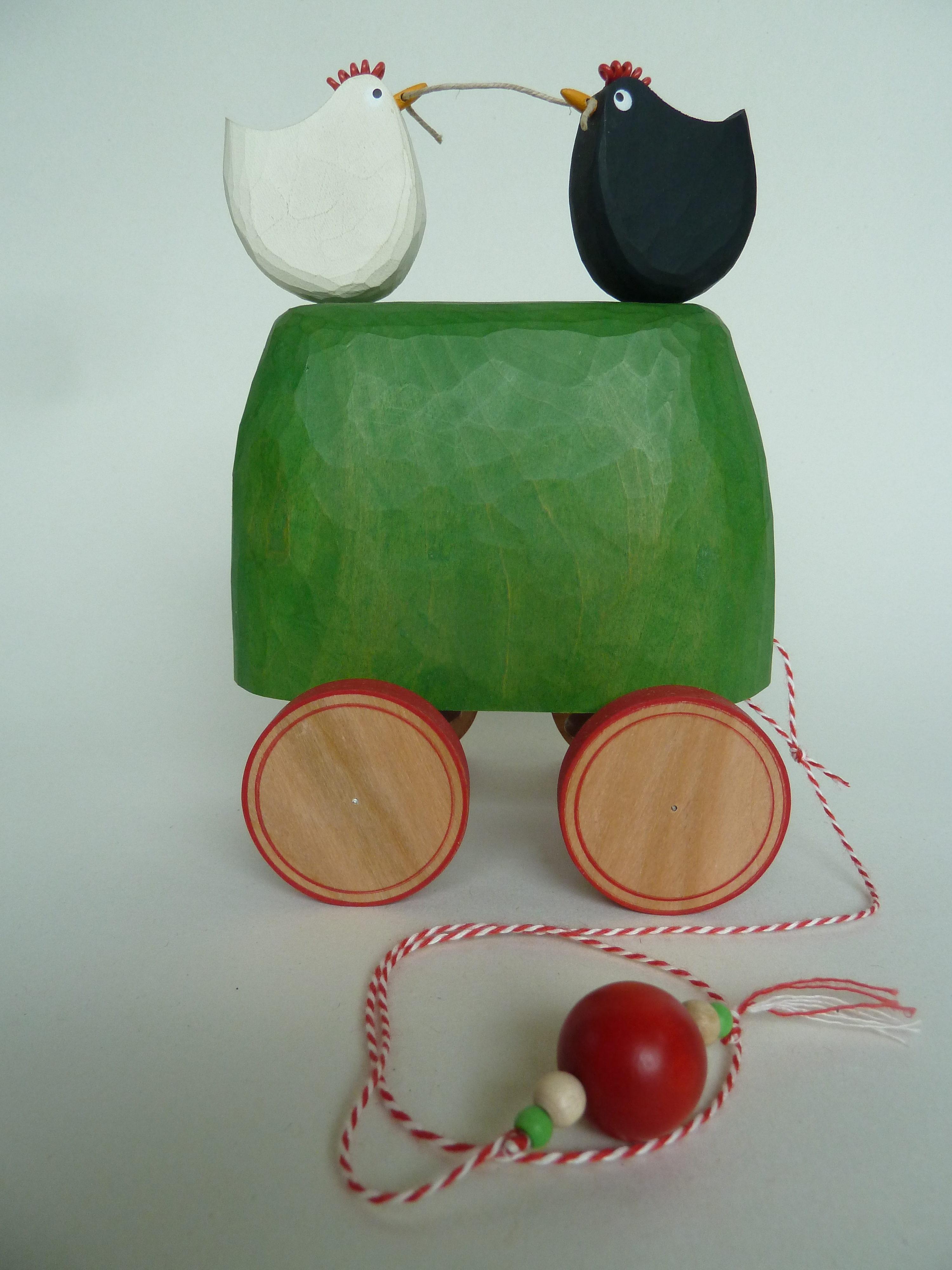 Wooden Automata 'Worm'
