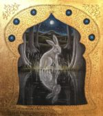 Hand Gilded Limited Edition Print 'The Forest pool'