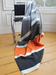 Merino Wool Palette Throw Colour Silver Lining