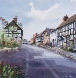 Original Watercolour 'Looking up West Street, Pembridge'