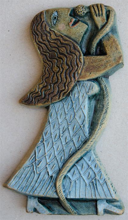 Ceramic Relief VOICE