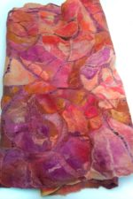 Hand Felted Margillan Stole Coral Reef