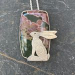 Silver Pendant 'Watching the Sunset'