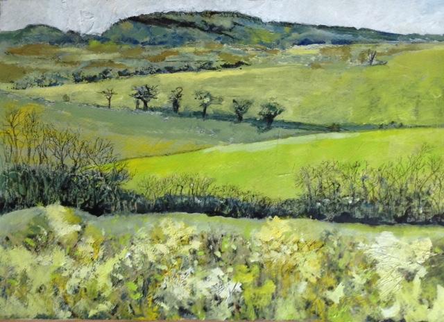 Signed Giclee Print 'Overcast but Spring Still Popping'