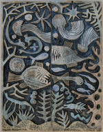 Ceramic Relief  Deep Sea