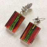 Acrylic Drop Earrings Candyfloss