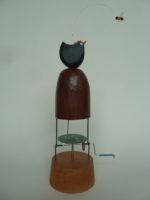 Wooden Automata 'Hen Mound'