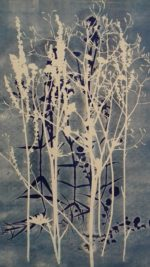 Colour Mono-print  Meadow Plants l