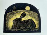 'Serenity' Moonrise Hare