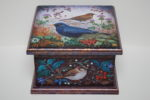 Hand Painted Wooden Box  'Winter Berries'