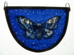 """Stained Glass Panel  Starry Emperor"""