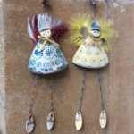 Ceramic Fairy Hang Ups