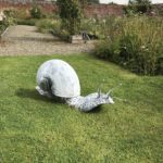 Forged and galvanised Snail