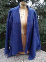 Felted Wool Tokyo Jacket in blue
