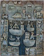 Ceramic Relief  Harbour