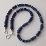 Necklace in Lapis and Silver