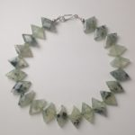 Prehnite 'Diamonds' Necklace