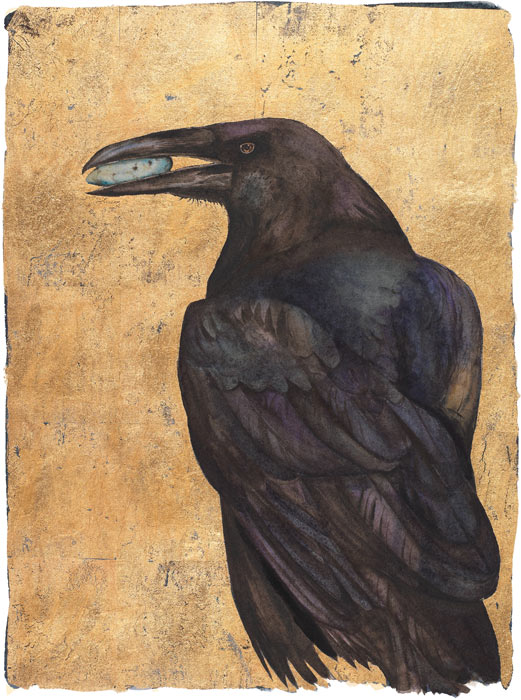 """'Limited Edition Print """"I am Raven"""""""
