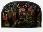 "'""Stained Glass panel  Grand Mothers Cottage"""