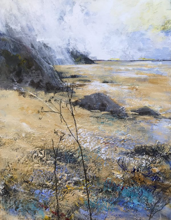Original - Pembrokeshire Coast: Low Tide Alone