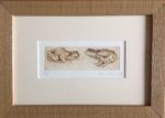 Limited Edition Etching Two Frogs