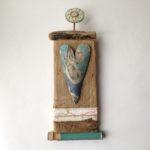 'Love Token' Driftwood & Ceramic