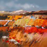 Original Acrylic/oil Russet Hills