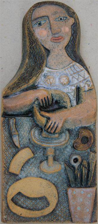 Ceramic Relief Pottering