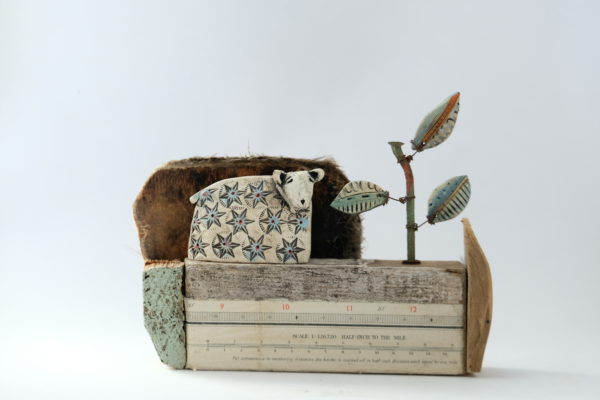 Ceramic and Driftwood  'Half Inch to the Mile'