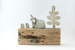 Ceramic and Driftwood  'Lowland'