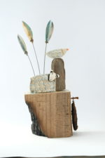 Ceramic and Driftwood Highland